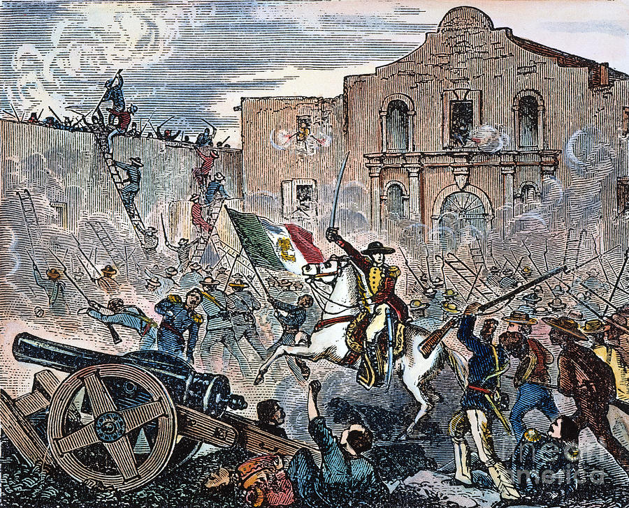 6 Mars 1836 ALAMO (Remember!) 3-texa10