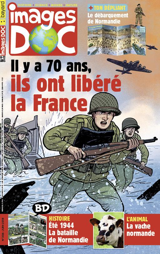 6 Juin 1944 : Débarquement en Normandie 306-co10