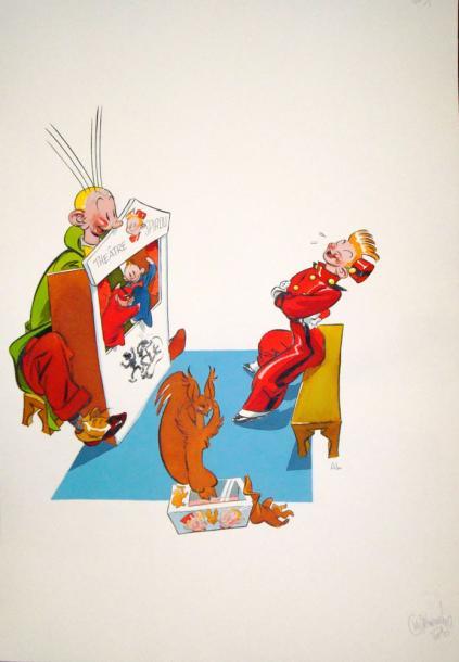 Spirou et ses dessinateurs - Page 11 33810
