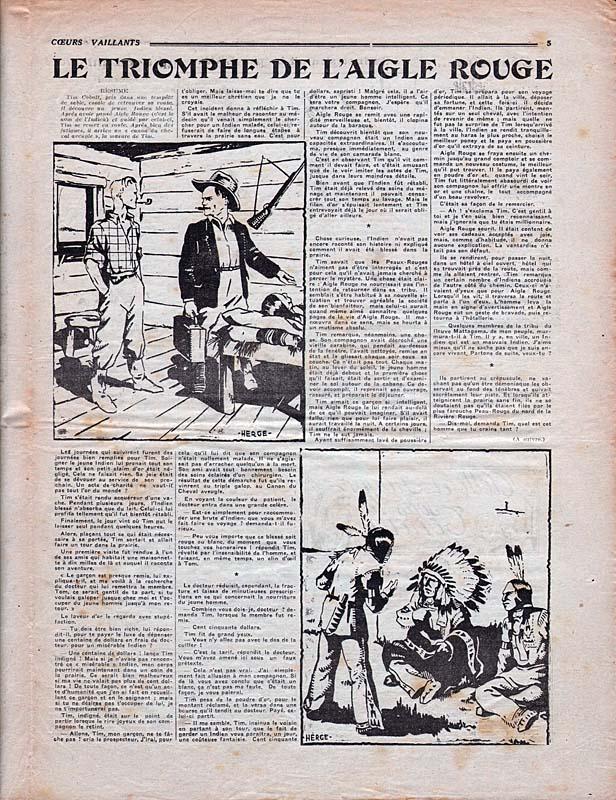 Hergé et la France 36-19310