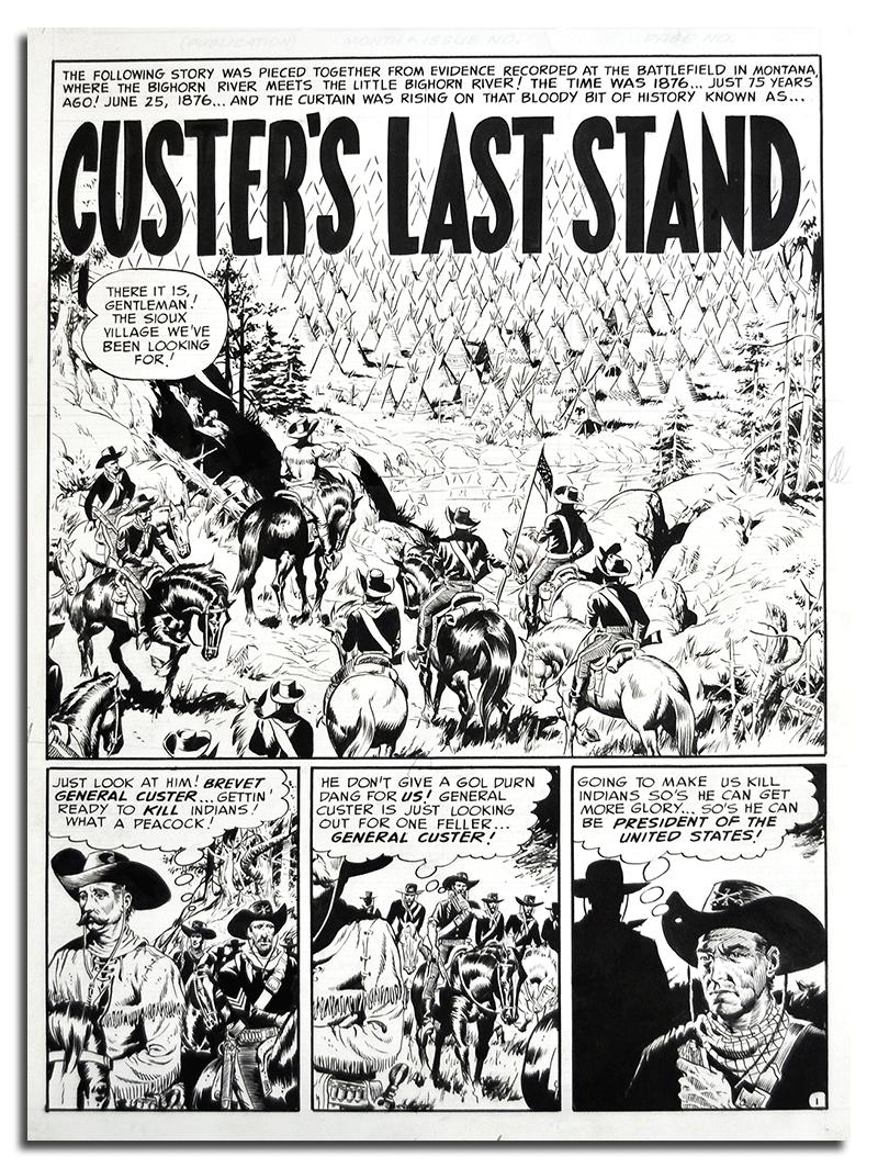 25/26 Juin 1876 : Little Big Horn (Montana) 411_110
