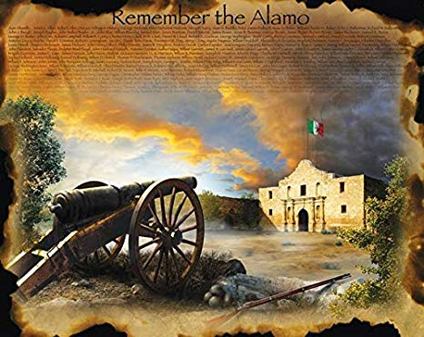 6 Mars 1836 ALAMO (Remember!) 51miu910