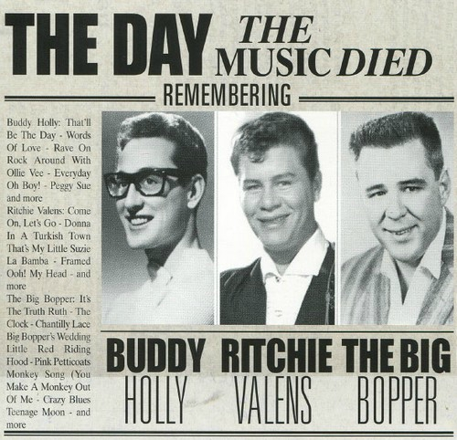 3 Février 1959 (Clear Lake ; Iowa ) The day the music died  83403610