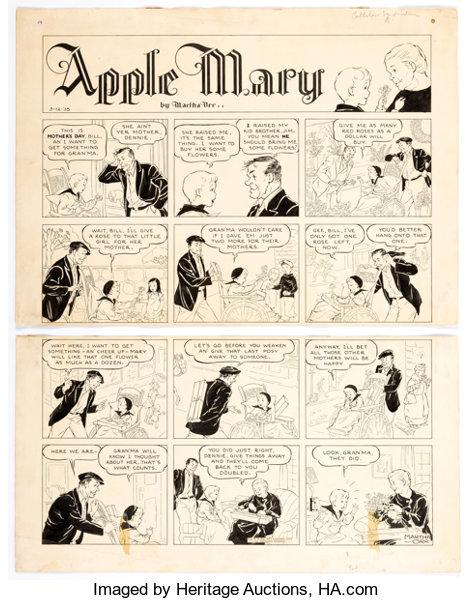 APPLE MARY / MARY WORTH 96511