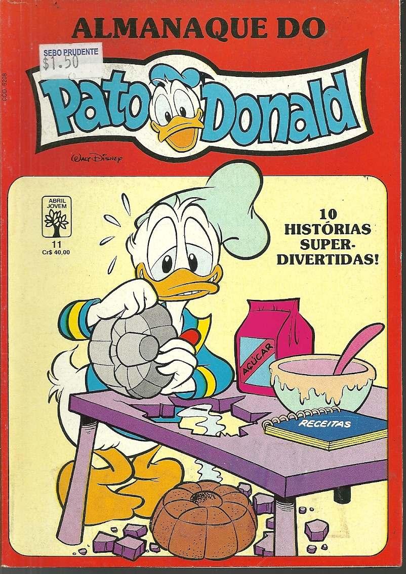 Donald, Picsou et leur univers Almana10