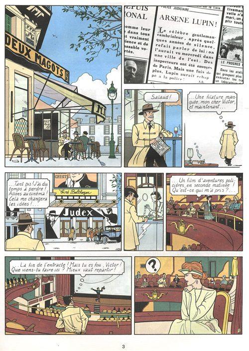 Décès du dessinateur, décoriste et coloriste belge Erwin Drèze Arsene13