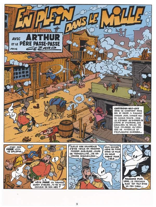 Jean Cézard : M. TOUDOU (et son singe Toulour ) et bien d'autres personnages Arthur15