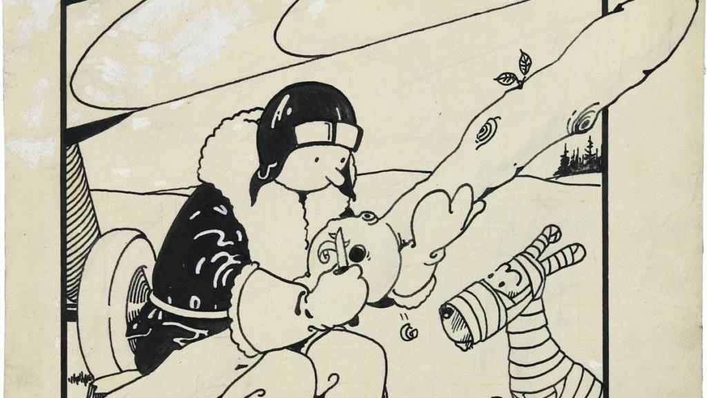 Trouvailles autour de Tintin (deuxième partie) - Page 3 B9719810