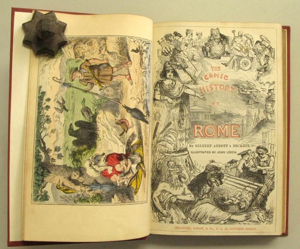 """""""La Rome antique en BD"""" Bob-et11"""