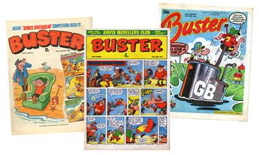 Bandes dessinées britanniques - Page 5 Buster12