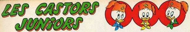 Carl BARKS & his Junior Woodchucks Castor11