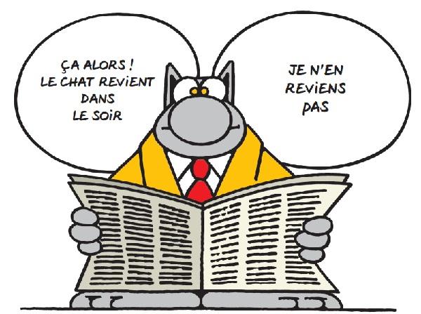 """""""Le GLOBE"""" Chats110"""