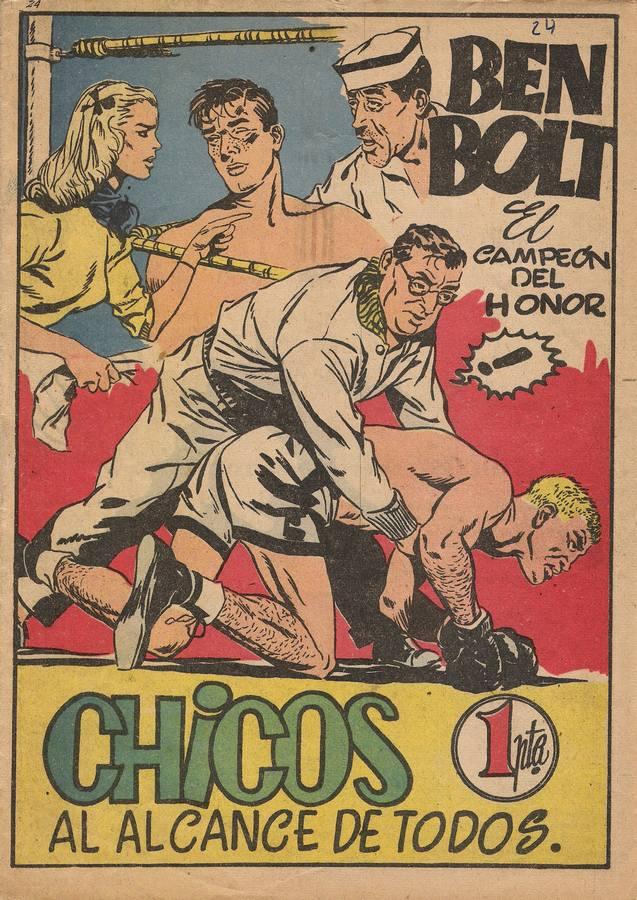 """Quatre boules de cuir"" (Big Ben Bolt) - Page 3 Chicos12"