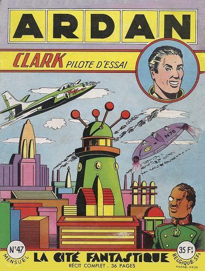 Clarck pilote d'essai Couv_122