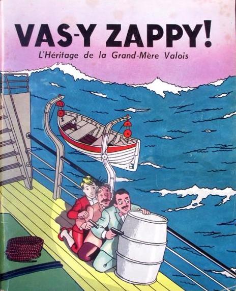 ZAPPY MAX en bd : Couv_285