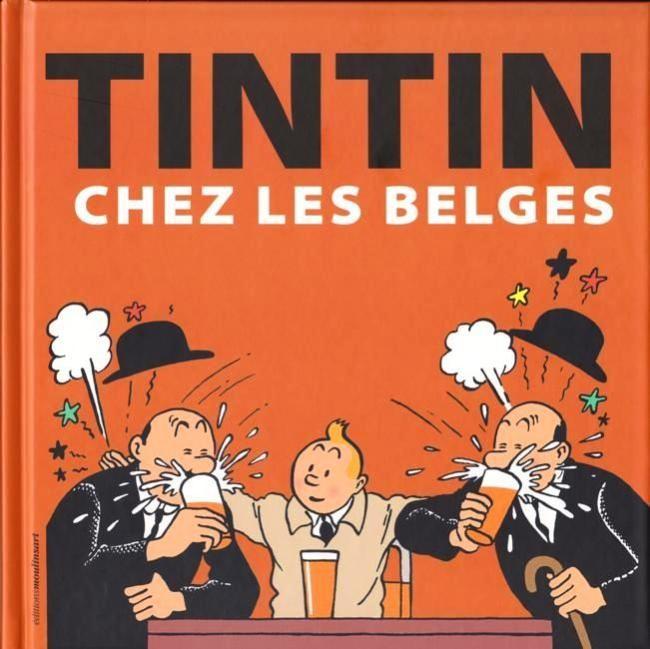 Tintin chez les Belges Couv_501