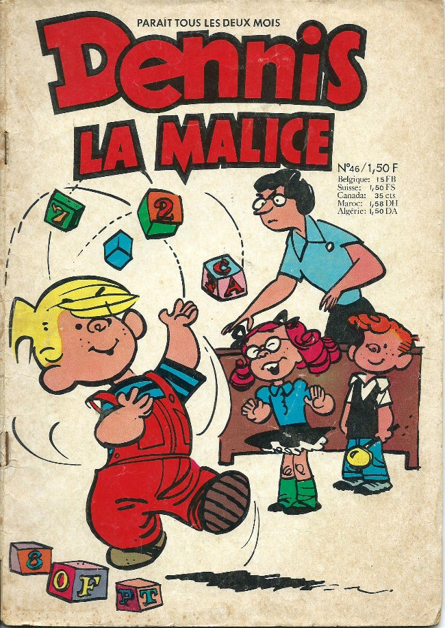Hank Ketcham et Dennis the Menace ( Denis la Malice ) - Page 5 Couv_676