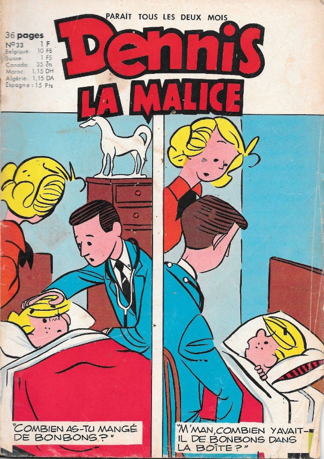 Hank Ketcham et Dennis the Menace ( Denis la Malice ) - Page 5 Couv_678