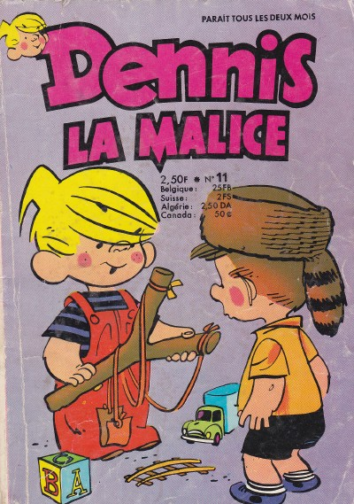 Hank Ketcham et Dennis the Menace ( Denis la Malice ) - Page 5 Couv_683
