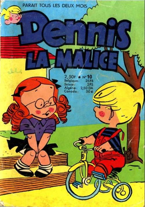 Hank Ketcham et Dennis the Menace ( Denis la Malice ) - Page 5 Couv_684