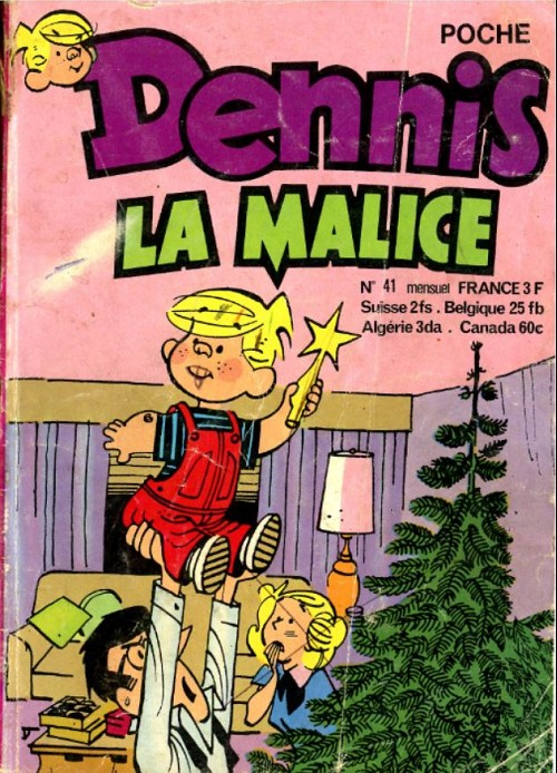 Hank Ketcham et Dennis the Menace ( Denis la Malice ) - Page 5 Couv_781