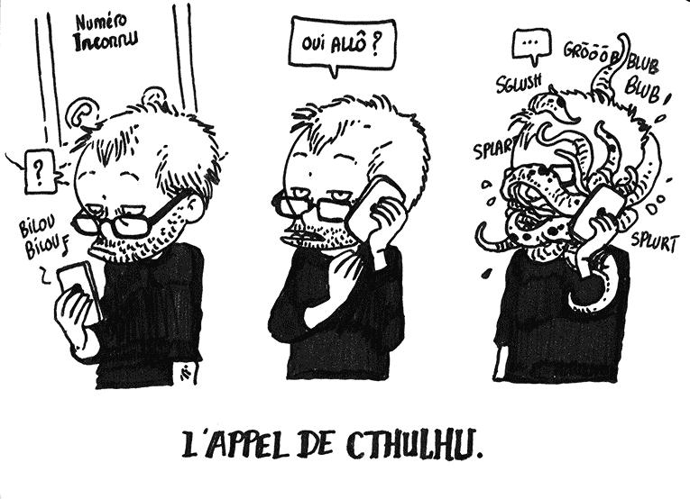 H.P. LOVECRAFT en BD Cthulh13