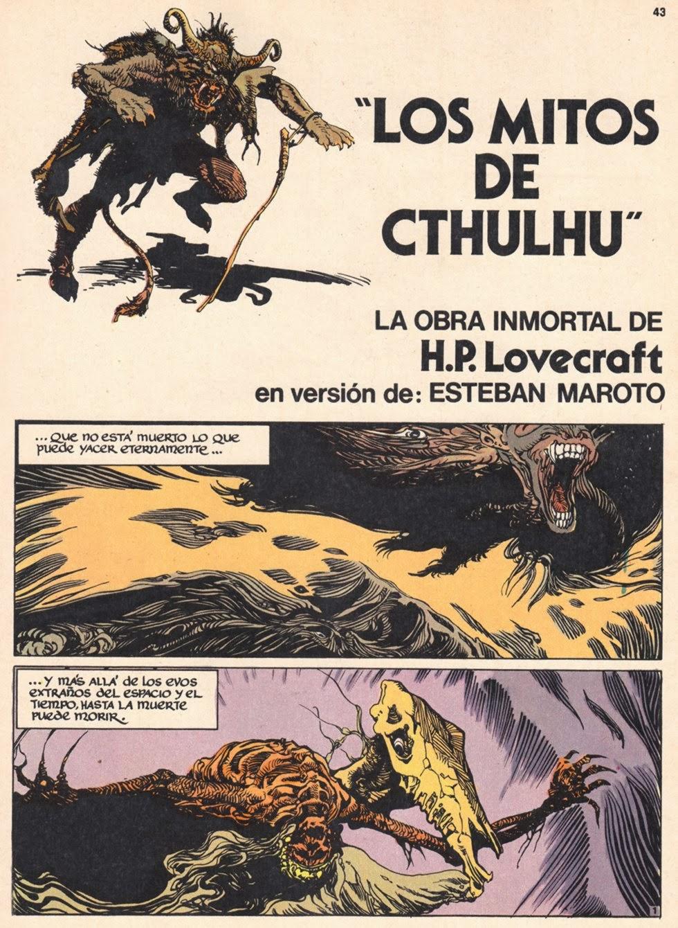 H.P. LOVECRAFT en BD Cthulu10