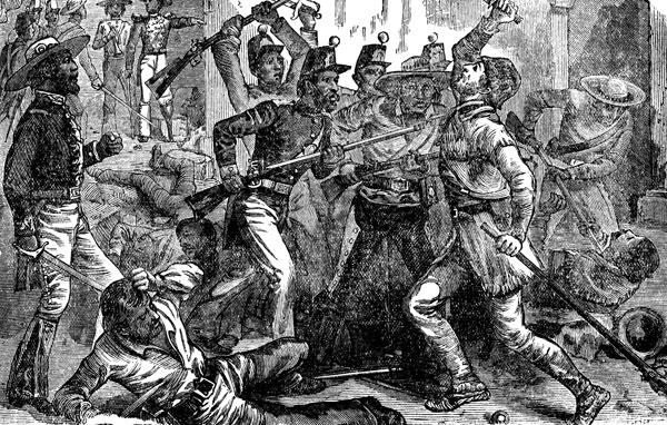 6 Mars 1836 ALAMO (Remember!) David-10