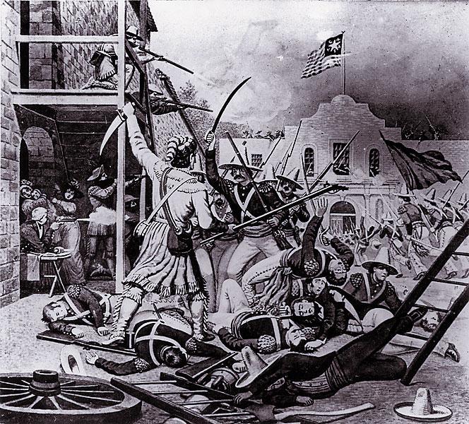 6 Mars 1836 ALAMO (Remember!) Davy_c10