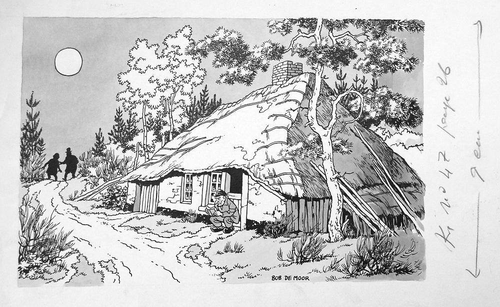 Bob de Moor l'histoire et Barelli - Page 14 De-kem10