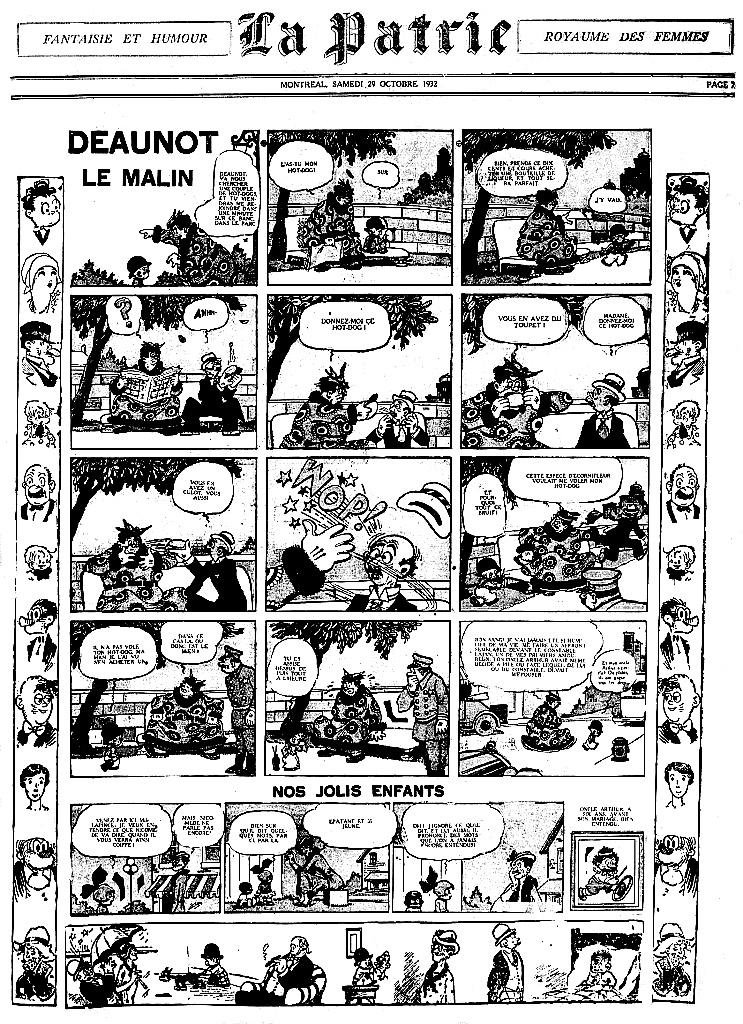 9ème Art, musée de la bande dessinée par Morris et Vankeer - Page 6 Deauno10