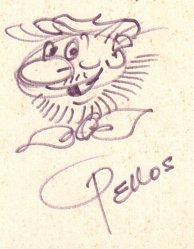 Les cases sportives de René PELLOS et autres séries toutes aussi remarquables - Page 4 Dedica11