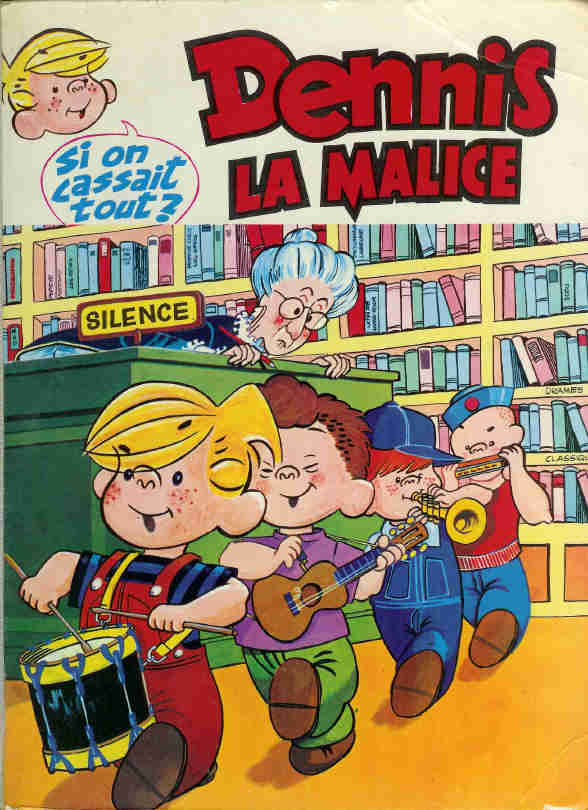 Hank Ketcham et Dennis the Menace ( Denis la Malice ) - Page 5 Dennis10
