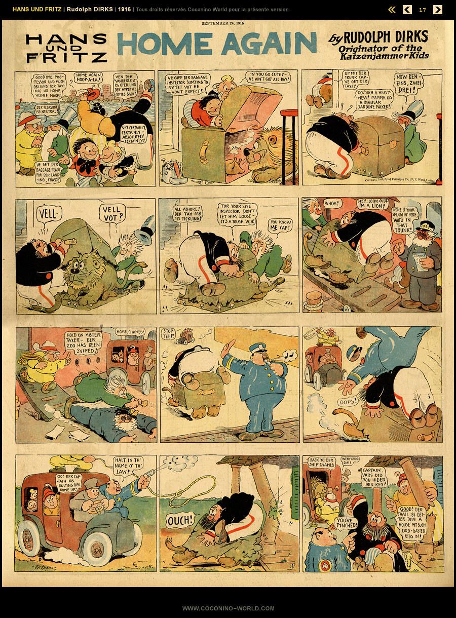 The Katzenjammer Kids (Pim Pam Poum) - Page 7 Hansfr12