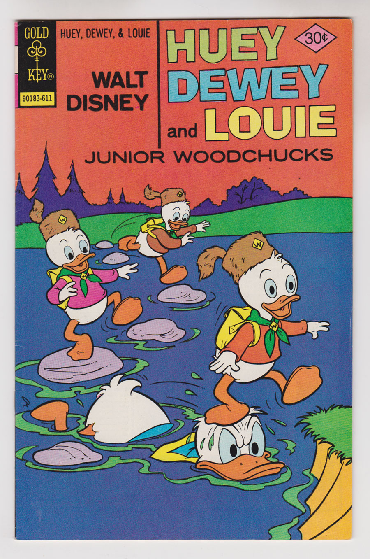 Carl BARKS & his Junior Woodchucks Hue1_710