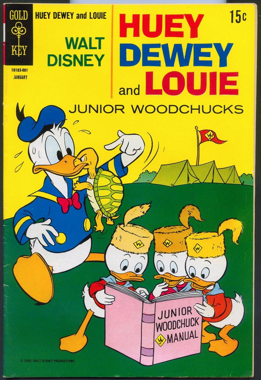 Carl BARKS & his Junior Woodchucks Huey_d10