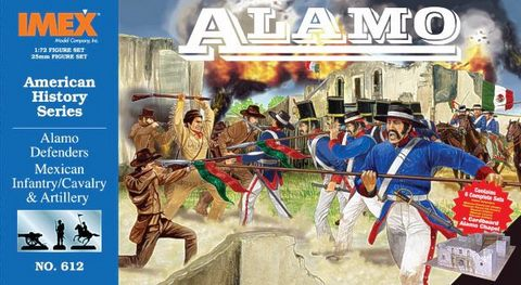 6 Mars 1836 ALAMO (Remember!) Imx61210