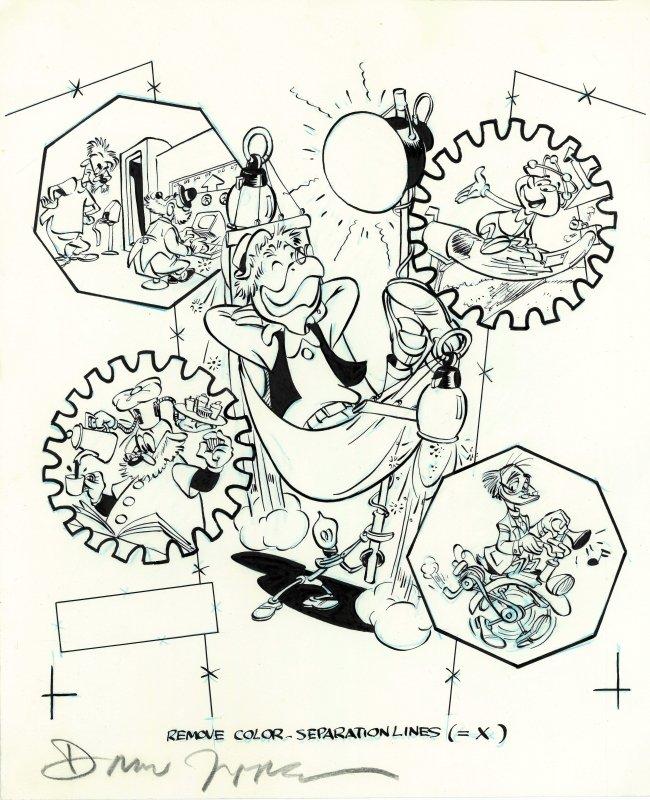 Géo TROUVETOU & Filament (BARKS & Don ROSA) Jippes10