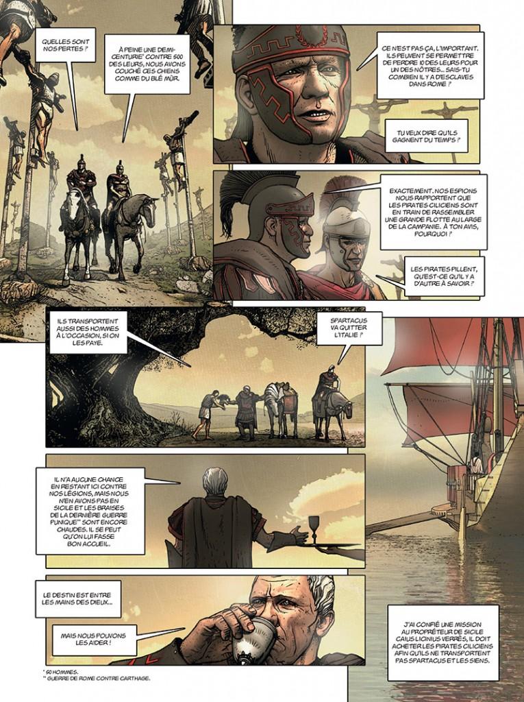 Spartacus (3° guerre servile ; 73-71 B.C. ) Jour-j11