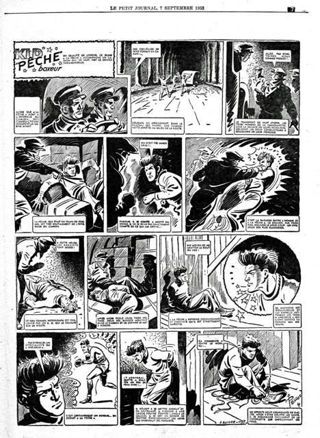 Les cases sportives de René PELLOS et autres séries toutes aussi remarquables - Page 3 Kid_pe10