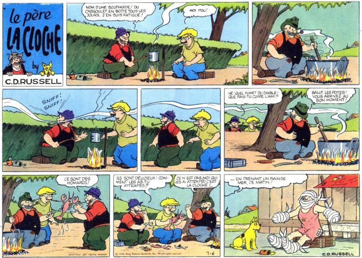 9ème Art, musée de la bande dessinée par Morris et Vankeer - Page 2 Lacloc10
