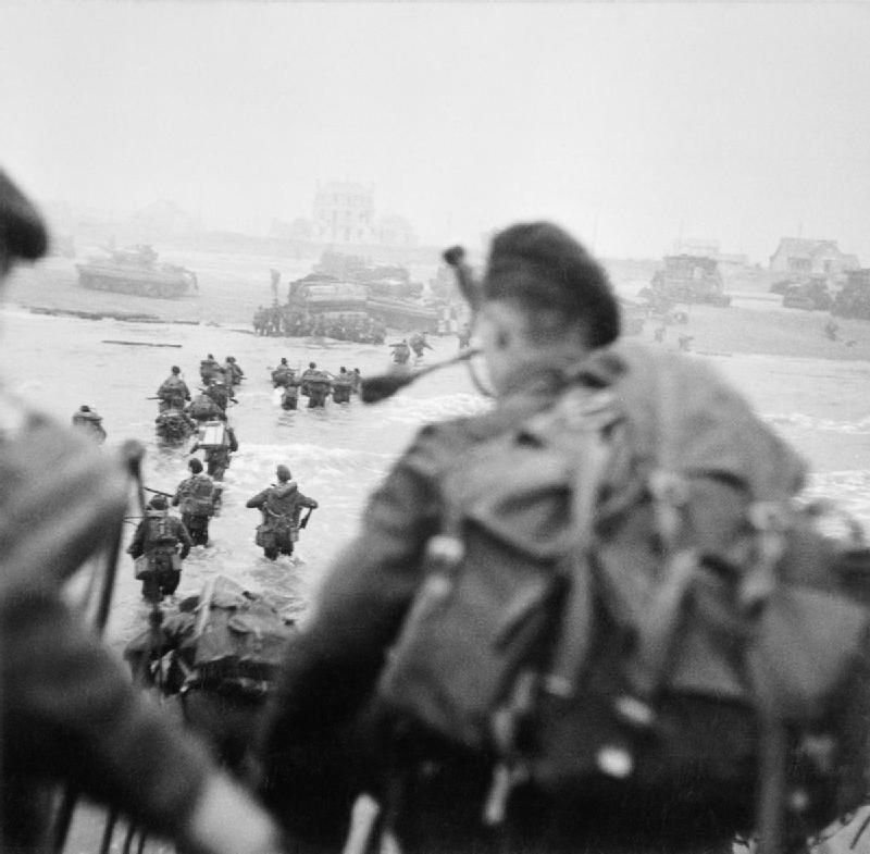 6 Juin 1944 : Débarquement en Normandie Landin10