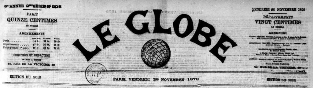 """""""Le GLOBE"""" Leglob10"""