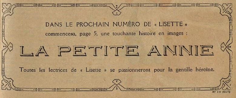 Darrell McClure, Nicholas Afonsky et la saga de la Petite Annie Lisett11