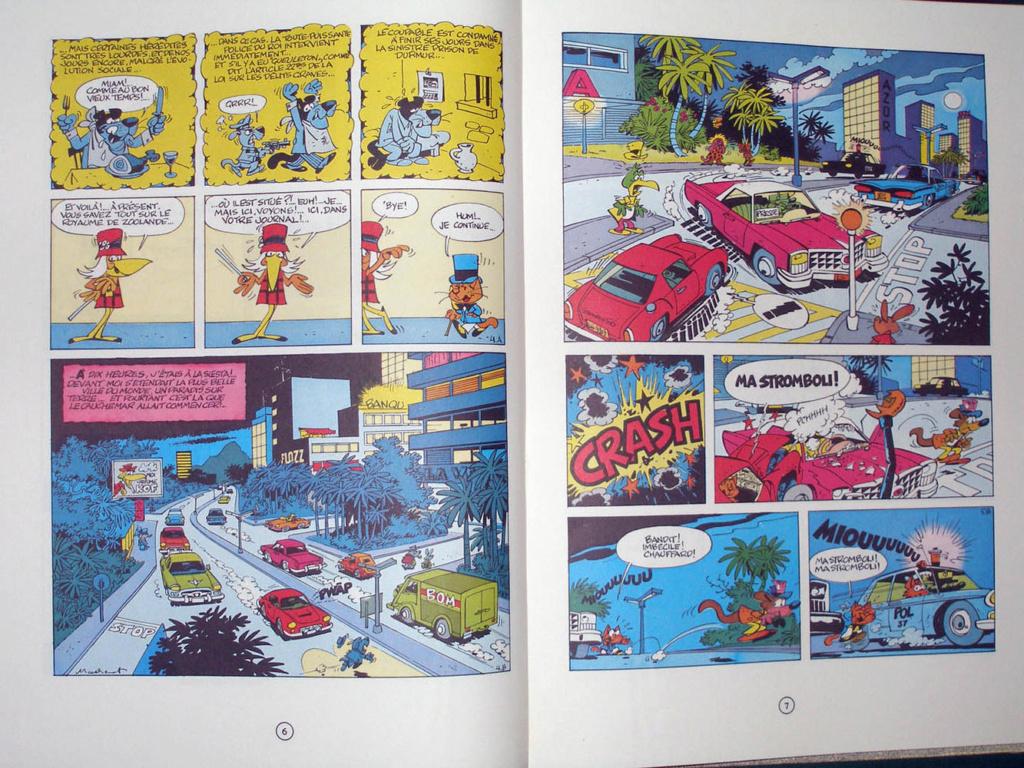 Le cadre merveilleux de Raymond Macherot - Page 16 Macher12