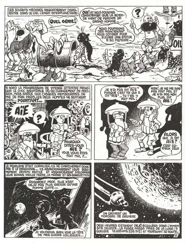 Jean Cézard : M. TOUDOU (et son singe Toulour ) et bien d'autres personnages Mirobo10