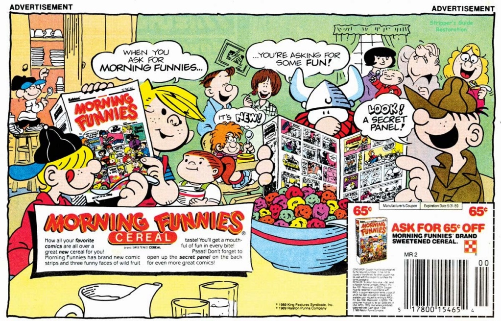 Hank Ketcham et Dennis the Menace ( Denis la Malice ) - Page 5 Mornin10