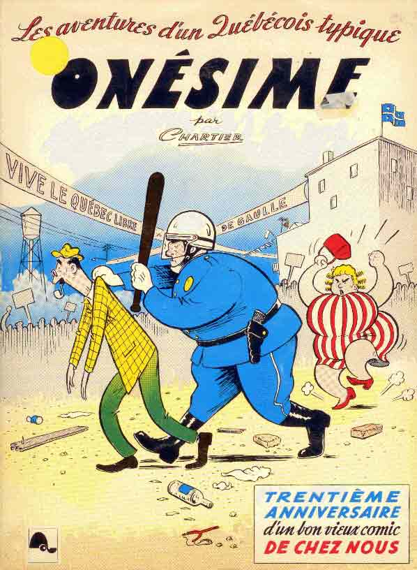 Bandes dessinées du Québec Onesim10