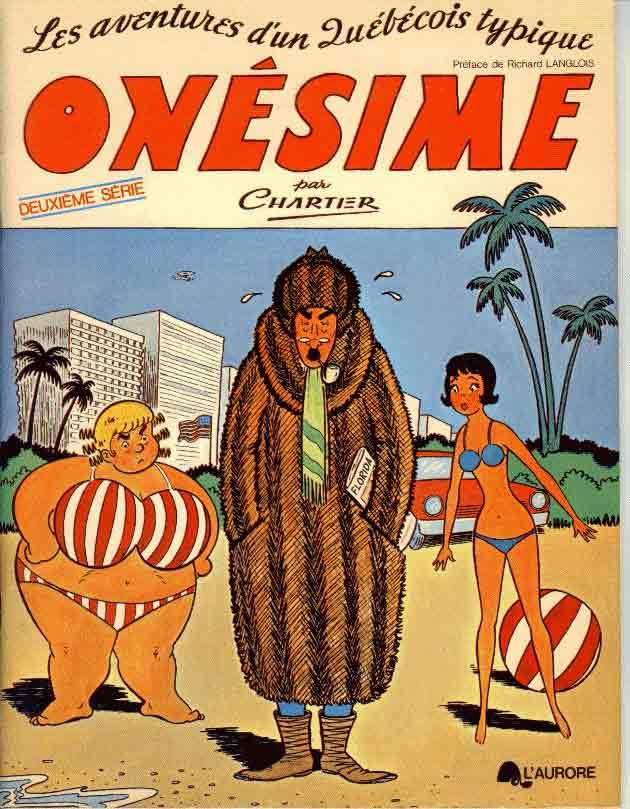 Bandes dessinées du Québec Onesim11