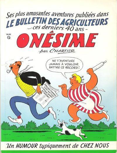 Bandes dessinées du Québec Onesim12